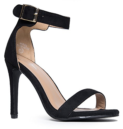 - J. Adams Marvel High Heel - Comfortable Ankle Strap Strappy Sandal Dress Pump