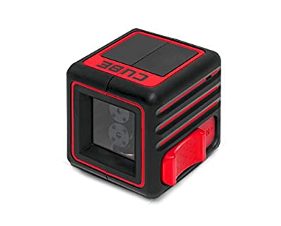 AdirPro Cube Cross Line Laser Level |Professional Self-Levelling Instrument with ±3°Accuracy Horizontal & Vertical Beams