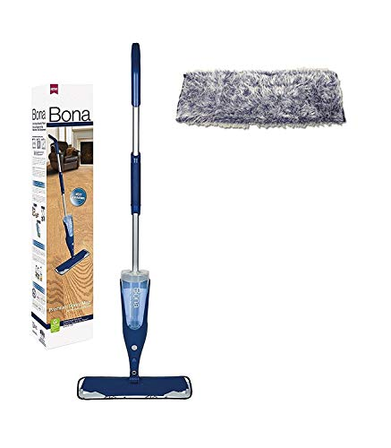 Bona Hardwood Floor Spray Mop Premium bonus dusting Pad ()