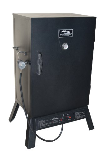 Masterbuilt 20050211 Black Propane Smoker, 40-Inch (Masterbuilt Lp Smoker compare prices)