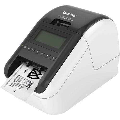Brother QL-820NWB Professional Ultra Flexible Label Printer - Office Bundle by Brother (Image #2)