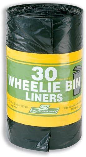 Robinson Young Wheelie Müllsäcke 88 Gauge 240 Liter Ref 3875 [Pack 30]