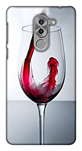 Blutec Red wine Design 3D Printed Hard Back Case Cover for Huawei Honor 6x