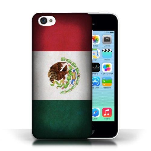 Etui / Coque pour Apple iPhone 5C / Mecico/Mecican conception / Collection de Drapeau
