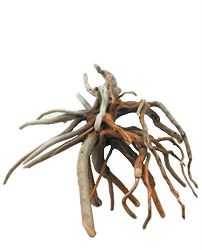 大型幹枝付き流木根 h331 DIY園芸工作アクアリュウム用インテリア店舗ディスプレイ撮影用流木素材 B07DJCK2DD