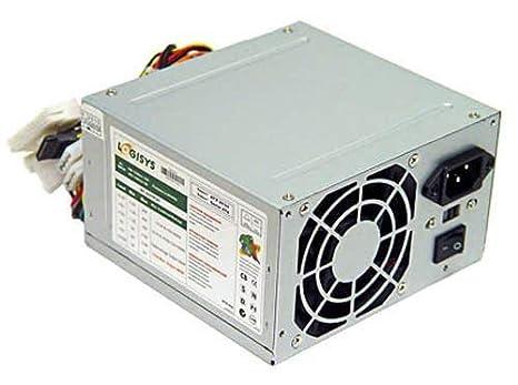 Amazon.com: LOGISYS 480 W 20 + 4-pin ATX Fuente de ...
