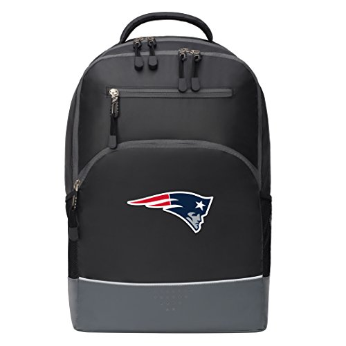 The Northwest Company Officially Licensed NFL New England Patriots Alliance Backpack, Black