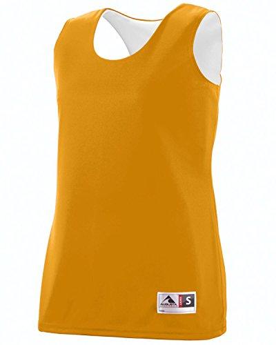 Augusta - Camiseta de tirantes - para mujer Gold/White