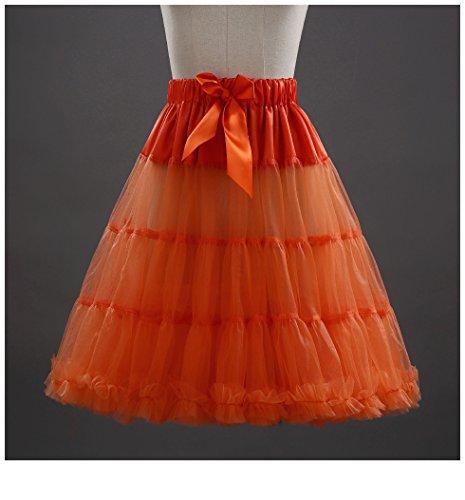 Cystyle - Vestido - globo - para mujer Orange 1