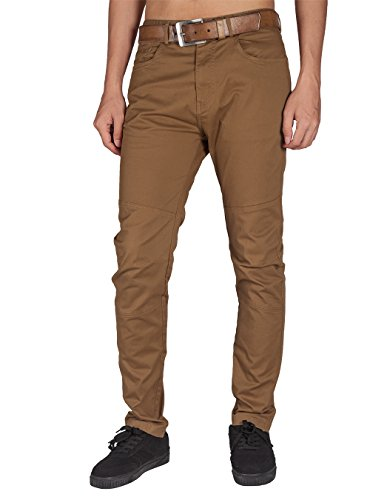 ITALY MORN Men's Stretch Slim Pants Fashion-Forward Informal Pants