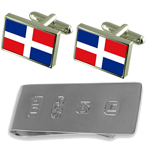 Cufflinks Dominican Money Republic Flag Dominican Republic Clip James amp; Bond qIw78Tndx