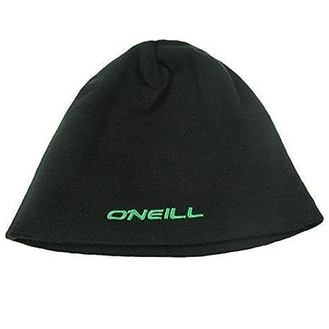 O Neill Berretto Cappello Double Face da Uomo Nero Verde Taglia Unica aaf07ad0a4f1