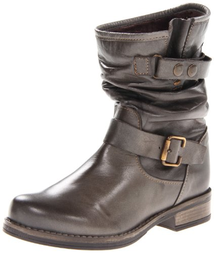 Grey Motorcycle Boots - 3