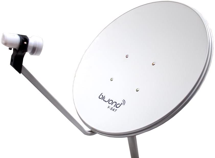 Antena Parabólica Biwond 60cm + LNB + Soporte Pared: Amazon ...
