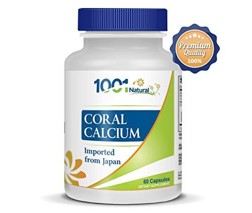 Les suppléments de calcium de corail avec oligo-éléments, magnésium et vitamine D3. Améliorer la santé des os, surmonter l'anxiété, neutraliser les radicaux libres, et réduire le stress et la colère. Le calcium de corail vous autorisera à vivre une vie he