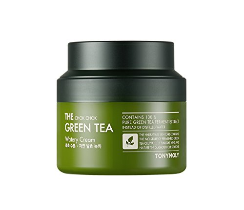 - TONYMOLY The Chok Chok Green Tea Watery Cream, 3.4 fl. oz.