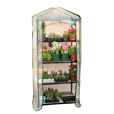 4 Tier Mini Greenhouse - Use Indoors or Outdoors