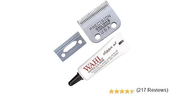 Wahl Hair Clipper Blade Set & Oil - accesorios para cortar barba y ...