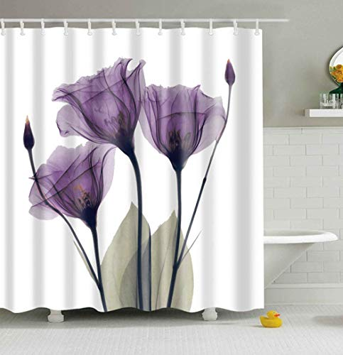 Mantto Home Decor Purple Gentian Trio X-Ray Flowers for sale  Delivered anywhere in Canada