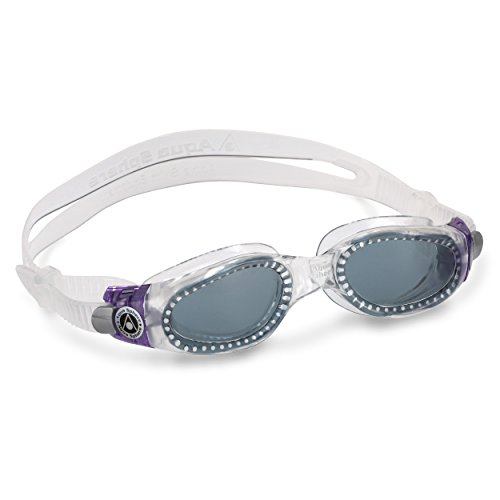 - Aqua Sphere Kaiman Lady Swim Goggle (Smoke Lens, Purple/Raspberry)