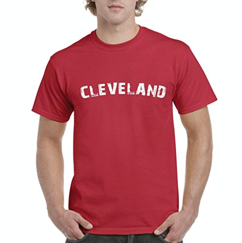 Xekia Cleveland Ohio State Home Men's T-Shirt Tee XXXX-Large Red