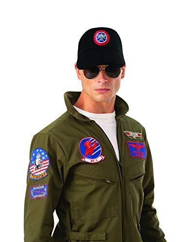 Rubie's Unisex-Adults (Classic Movie) Top Gun Cap, As Shown, One Size ()