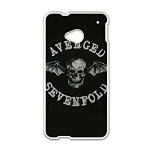 HTC One M7 Cell Phone Case White Avenged Sevenfold gift Q6556307