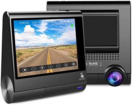 Amazon.com: 3 Inch OLED Touch Screen Car Dvrs Recorder Dash ...
