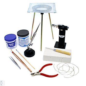 Standard Jewelry Soldering Kit with Silver Solder Wire SFC Tools - Jewellery Medium