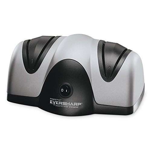 Presto 08800 EverSharp Electric Knife Sharpener (Black Sharpener Knife)