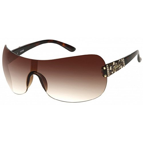 Guess Women's Gradient GU7214-TO-34 Brown Rimless - 2013 For Sunglasses Guess Women