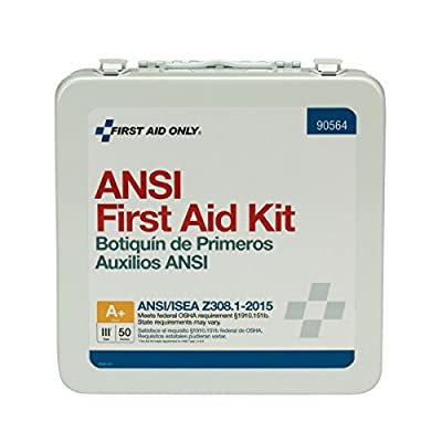 First Aid Only 90564 50 Person Bulk ANSI A+ First Aid Kit from Pac-Kit