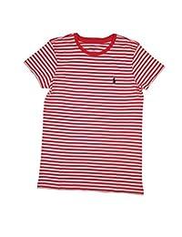Ralph Lauren Sport Women's Lightweight Crew-Neck T-Shirt 2016 Model (Red/White)