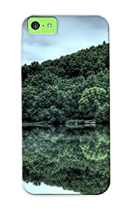 Iphone Case - Tpu Case Protective For Iphone 5c- Upper Lake