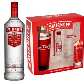 Smirnoff Festive Cocktail Shaker Ultimate Gift By Moreton Gifts: Amazon.co.uk: Grocery