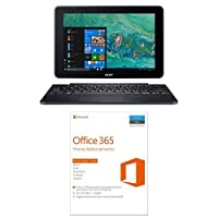 "Acer Notebook One 10 S1003-19ZA Processore Intel Atom Quad Core x5-Z8350, Ram 2GB DDR3, 64 GB eMMC, Display 10.1"" IPS HD, Windows 10 Home + Microsoft Office 365 Home [5 PC/1 anno] (Versione 2016)"