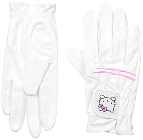 hello-kitty-ladies-golf-glove-set-pink-white-22cm
