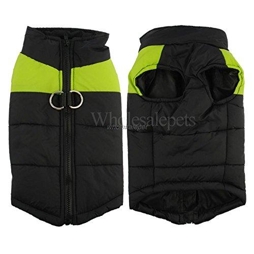 HuoGuo NEW Winter Dog Clothes Waterproof Warm Pet Vest Jacket Coat For Small Medium Large Dogs roupas para S M L XL XXL Green 5XL -
