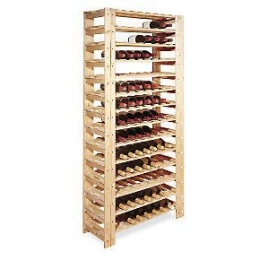 Swedish 126 Bottle Wine Rack - Unstained ()