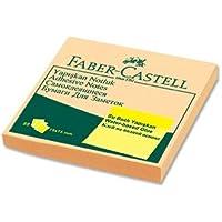 Faber-Castell 5089585403 Yapışkan Notluk Harmony 75 x 75mm, Krem