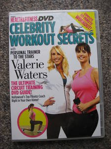 Celebrity Workout Secrets DVD - Personal Trainer to the Stars Valerie Waters with Playboy Playmate Karen McDougal