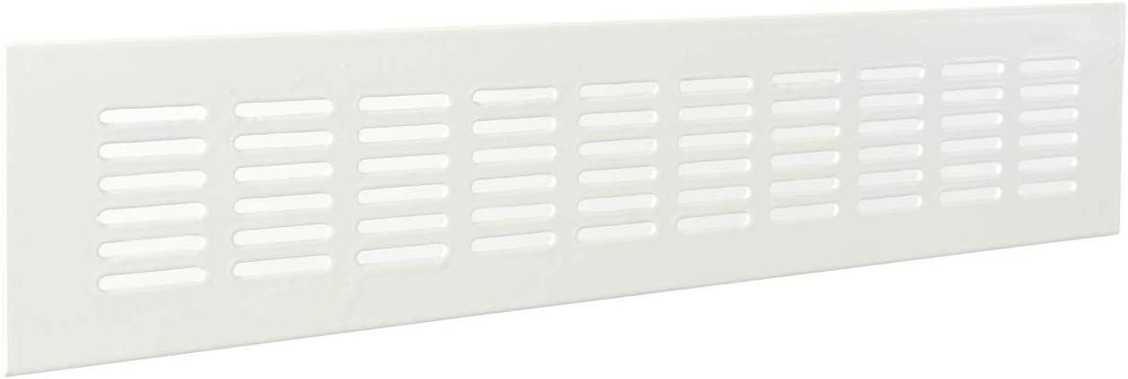 HSI Grille de ventilation 1/pi/èce 235/x 65/mm 929978.0 plastique blanc