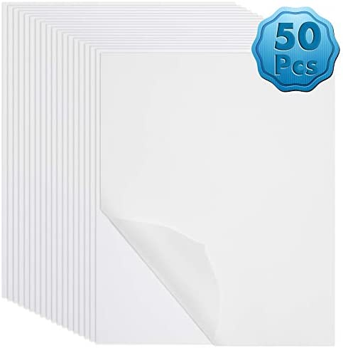 Darice Vellum Value Pack 8.5X11 50//Pkg-Clear 95gsm Party Supplies translucent