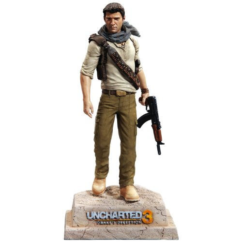 Uncharted 3 Nathan Drake Statue (Uncharted 4 Action Figure)