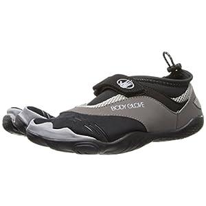 Body Glove Men's 3T Barefoot Max Water Shoe,Black/Grey,9 M US