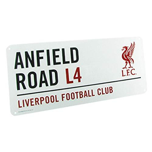 Boy Street Sign - Liverpool Anfield Street Sign