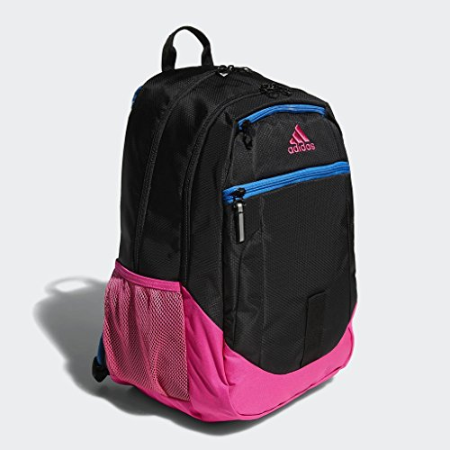 adidas Bright Shock Blue Pink Black Iv Foundation Backpack r8wqYrP