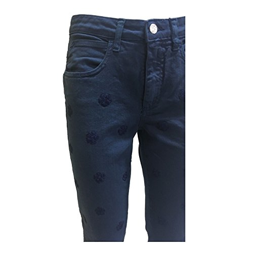 Ricami Tinta Luxury up Beam Made Donna In Jeans Push Mod Italy Con Blu Pamplona x0dTqzCTw