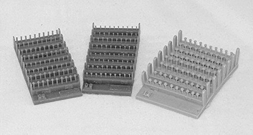 Plus Model 1:35 Bolts and Nuts 1.0 mm Resin Diorama Accessory #408