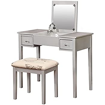 Amazon.com: Linon Paloma Vanity Set: Home & Kitchen